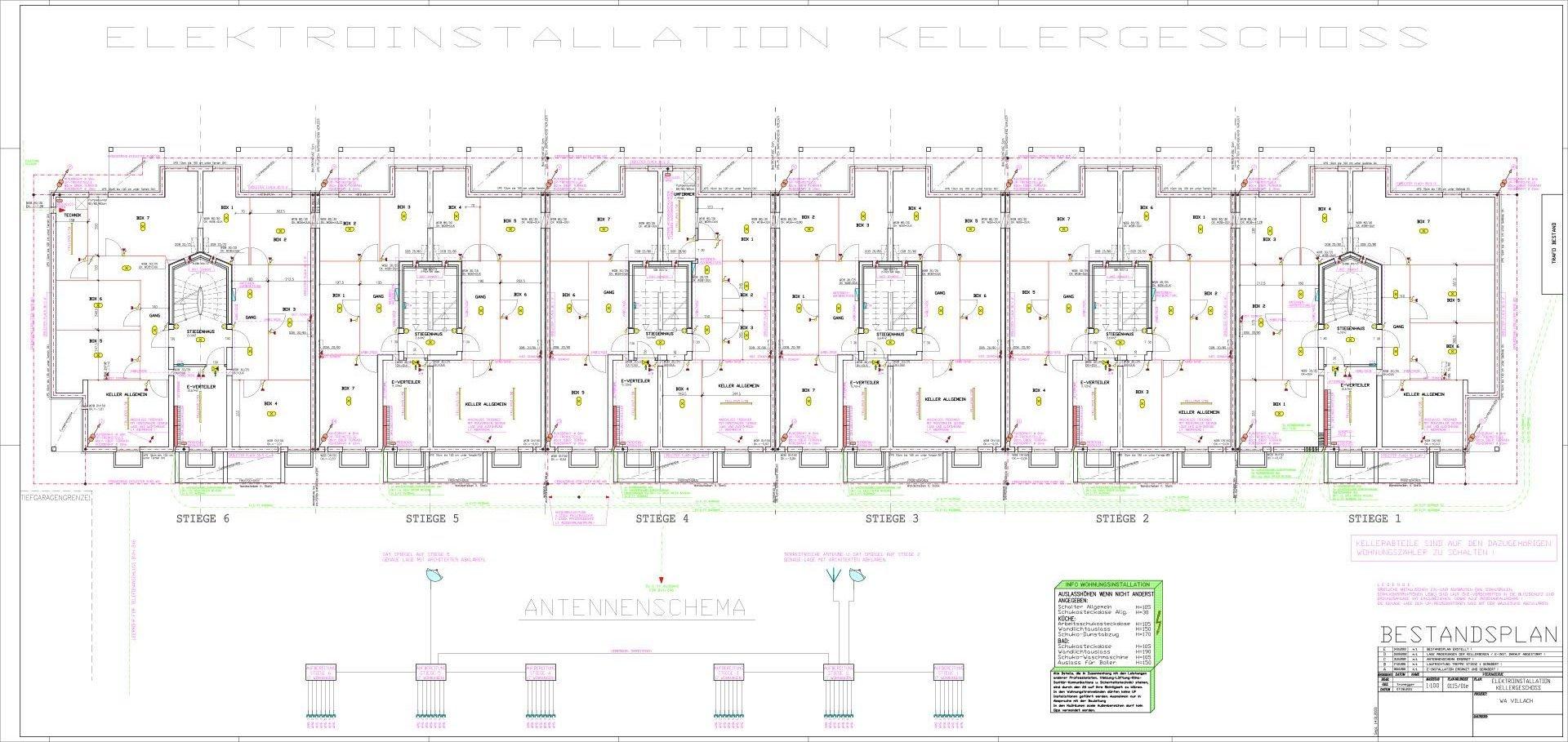 Wohnanlage-Villach_Elektroinstallation_1