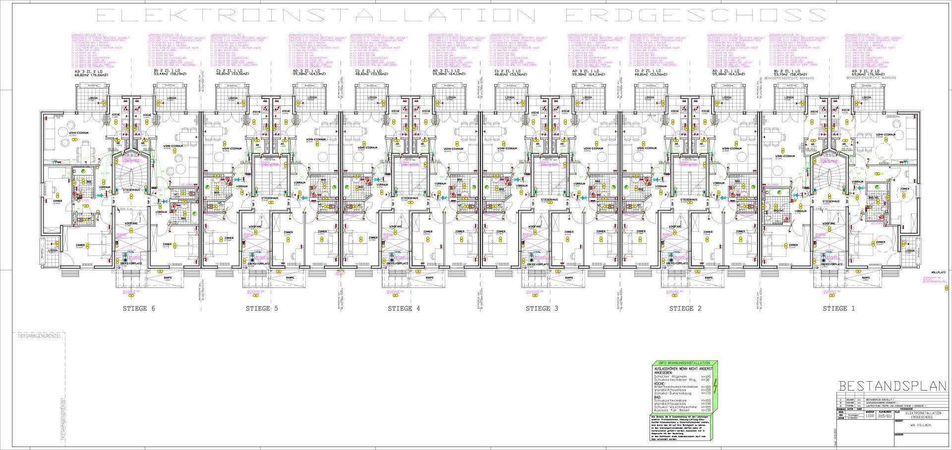 Wohnanlage-Villach_Elektroinstallation_2